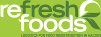 Refresh Foods | Logistics for Food Redistribution in Halton